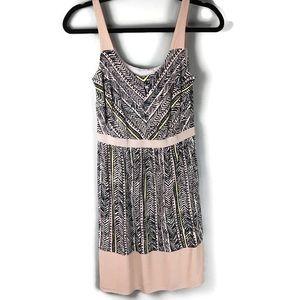 Loft Chevron Tribal Print Sleeveless Dress Size 0